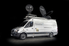Cobham SATCOM: EXPLORER VSAT joins royal wedding on new Timeline TV truck