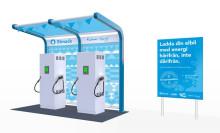 Landets första elmackskedja öppnar i Kalmar och skapar sex nya laddningsplatser för elbilsägare