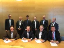 Delete allekirjoitti sopimuksen metsäteollisuuskonserni Metsä Groupin kanssa