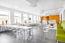 Lekolar skapar moderna lärmiljöer i Volvos gamla lokaler