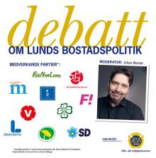 Bostadsproblematiken i Lund lyfts upp i debatt