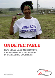 MSF report on the development needs in HIV viral load monitoring access