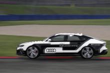 Førerløs Audi RS 7 kører omgang på Hockenheim!