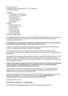 Öppet brev till Tillväxtutskottet om biografverksamheten i Lindesberg