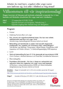 Program Uppsala 12/9