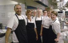 Bøgeskovhus's køkkenteam høster en Elite-smiley