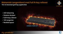 Boosta gaming-upplevelsen med Full N-key rollover