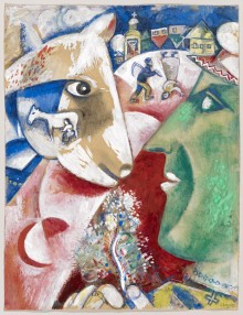 """""""Chagall: Die Jahre des Durchbruchs 1911–1919""""  Ausstellung im Kunstmuseum Basel vom 16.9.2017 bis 21.1.2018"""