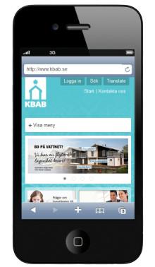 KBAB släpper ny responsiv webb på Litium Studio