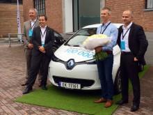 Renault elbil nummer 100.000 leveret i Oslo