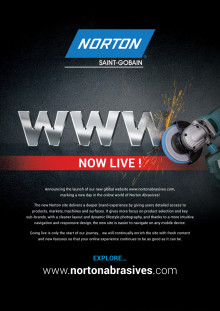 Norton Abrasives launches new website