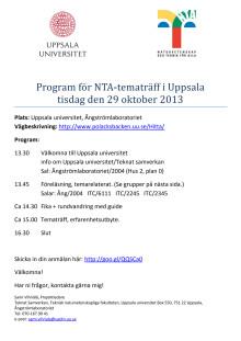 NTA-tematräff