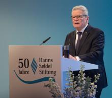Festakt zum Jubiläum 50 Jahre Hanns-Seidel-Stiftung