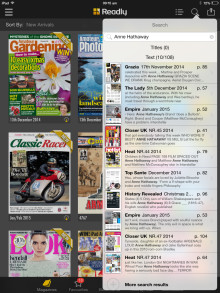 Readly launches keyword search function to revolutionise magazine consumption