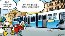 Kalle Anka intar Göteborg