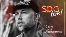 Tomas Andersson Wij på SDG Live!