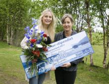 Jonna Jinton vann Norrmejerier-stipendiet