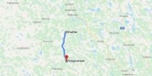 Peab Asfalt utför vägförstärkningsarbete i Västerbottens län