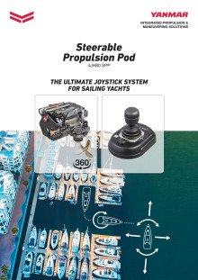 YANMAR 4JH80 SPP (Steerable Propulsion Pod) brochure