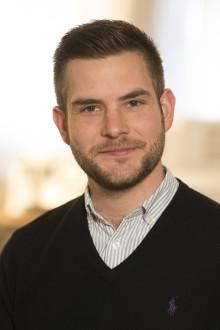 Alexander Zurka ny säljare SMC Pneumatics Lund