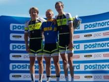 Linus Kvist från Motala dubbel svensk juniormästare på Landsvägs-SM