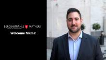 Niklas Sandell ansluter till Bergenstråhle & Partners!