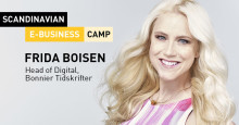 Frida Boisen kommer till Scandinavian E-business Camp 2016