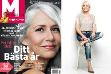 M-magasin får nytt omslag – och ökar utgivningen