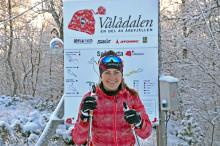 Längdstjärnan Ebba Andersson i samarbete med Vålådalen