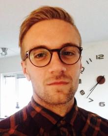 Emil Andersson är ny praktikant hos oss på Imagine that
