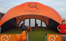 Teqball på Nordstan 2-8 maj