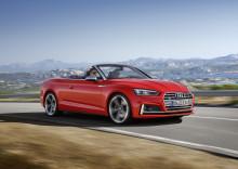 Intensiv körglädje med nya Audi A5 och S5 Cabriolet.
