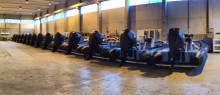 15 OXE 150 HP engines tested and ready for handover to Hurtigruten