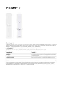 Mr smith Produktinfo Texture Spray