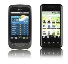 LG lanserer to nye Optimus smarttelefoner med Android 2.2