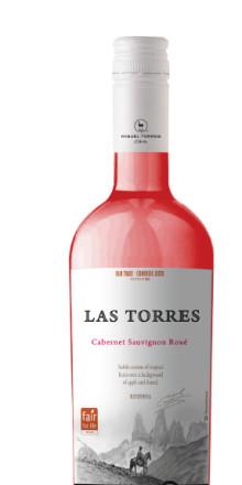 Festens rosa prinsessa – Las Torres Cabernet Sauvignon Rosé