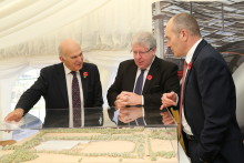 Hitachi Rail Europe Manufacturing Plant –Start of Construction Phase Ceremony with Rt Hon Dr Vince Cable MP and Rt Hon Patrick McLoughlin MP