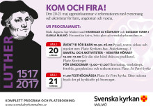 Reformationsevenemang 20-21 maj 2017