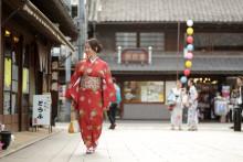 "Take a stroll in Kimono and experience a traditional festival at ""Little Edo, Kawagoe"""