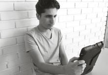 Tack vare studiestödet i digitala läromedel lyckas Ibrahim bli godkänd