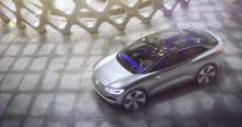 Ännu ett elbilskoncept från Volkswagen – världspremiär för I.D. CROZZ
