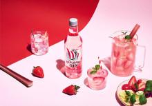 En fräsch nyhet till vårens drinkar – Explorer lanserar en Pink Gin med smak av jordgubb och rabarber.