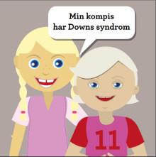Ny barnbok om Downs syndrom