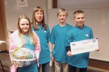 Dalängskolan i Lidköping vann regionfinalen i Teknikåttan