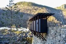 Neue Landschaftsrouten-Architektur von Peter Zumthor huldigt Norwegens Industriegeschichte