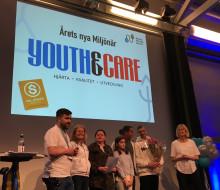 Youth and Care uppmärksammades på Nacka företagarträff – årets nya Miljönär