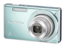 Olympus FE-5035, FE-4040, FE-4030, FE-47 - Färgglada kameror för färgstarka personligheter