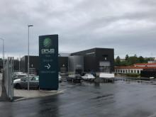 Nu är portarna öppna till Opus Bilprovnings nya station i Sätra