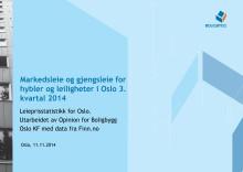 Markeds- og gjengsleie rapport 3. kv 2014