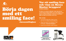AMK Morgon sprider smiling faces!